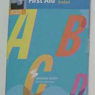 Life Saving Society First Aid Textbook
