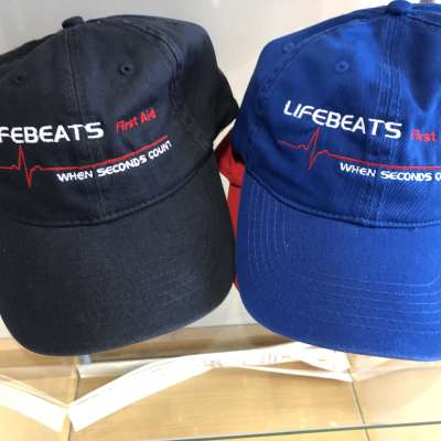 Lifebeats First Aid Embroidered Ball Cap